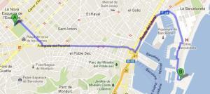 Parcours Joan Miro-Hôtel W