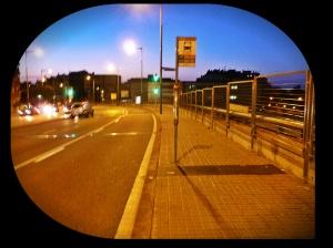 Gran Vía donde cojo el autobus