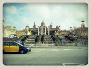 Musée National d'Art de Catalogne, Pl. de Espanya