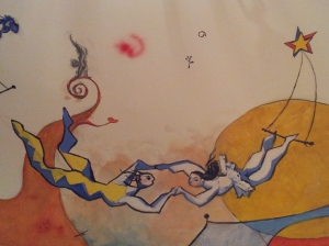 Détails peinture