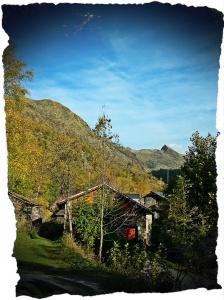 Maisons dans la montagne