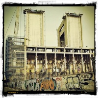 Antigua fábrica en Sant Adría