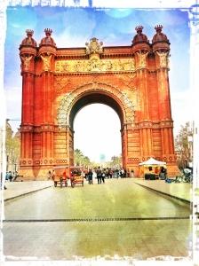 Arc de triomphe (Barcelone)