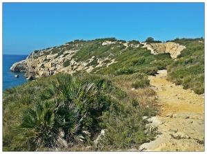 Camino de Sitges a Vilanova i la Geltrú