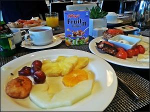 J'adore le buffet du petit-déjeuner !!!