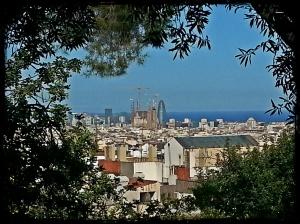 Vista sobre la Torre Agbar