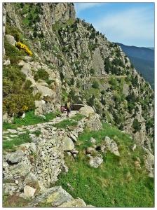 Chemin de Nuria à Queralbs