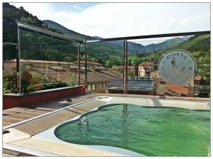 Jacuzzi de l'hôtel Els Caçadors à Ribes de Freser