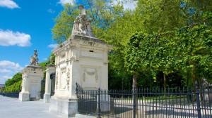 Entrée du Parc royal - Bruxelles