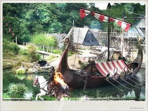 Spectacle de Vikings au parc du Puy du Fou