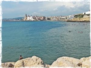 Vue de Sitges