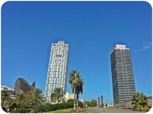 Esculptura de Frank Gehry - Hotel Arts - Torre Mapfre