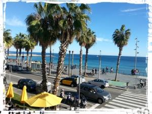 Vista desde la terraza de Barraca