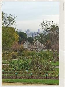 Vista sobre Barcelona desde los Jardines Cervantes
