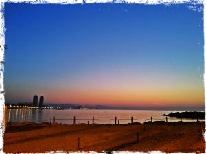 La Barceloneta à 6 h du matin